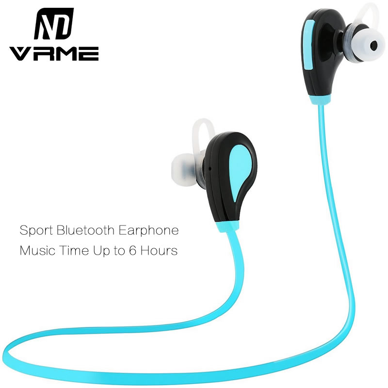 Sport Headphones Running Earphone Stereo Earbuds Wireless Bluetooth Headset Voice Control Handsfree with Mic for Xiaomi Iphone 6 universal sport stereo handsfree wireless bluetooth 4 0 stereo headphones sport earphone headset for samsung iphone