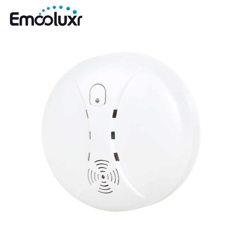 Standalone/Wireless Photoelectric Smoke Sensor Fire Alarm Smoke Detector 433mhz,Sound&Flash When Alarm,for G90B Wifi Alarm