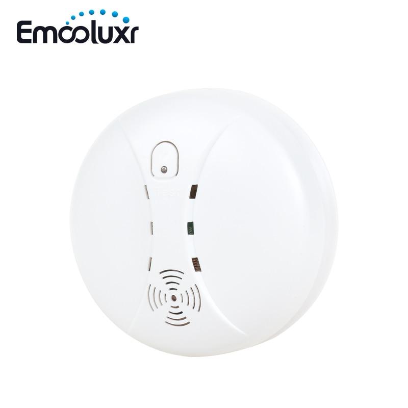 Standalone/Wireless Photoelectric Smoke Sensor Fire Alarm Smoke Detector 433mhz,Sound&Flash When Alarm,for G90B Wifi Alarm