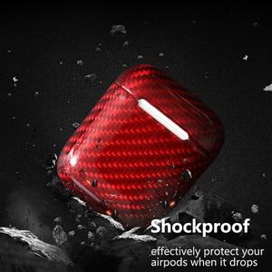 Image 4 - Dustproof Shockproof Carbon Fiber Earphone Protective Case For Apple AirPods Slim Light Cover for Apple AirPods Pro 3 2 1 Case
