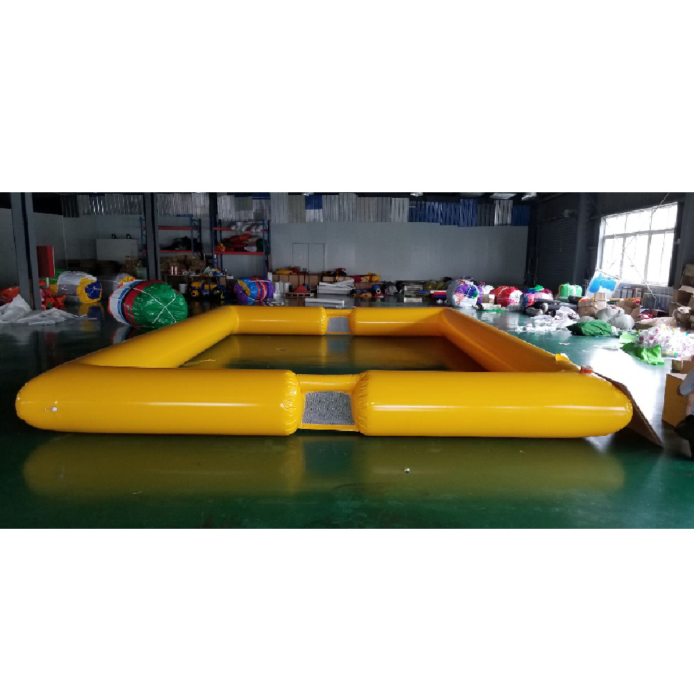 inflatable KT football field PVC net cloth inflatable sport