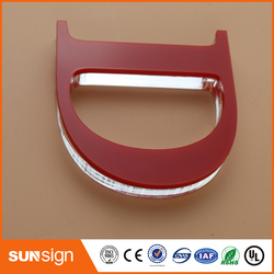 Commercio all'ingrosso casa decorazione dell'interno segnaletica acrilico lettere segno