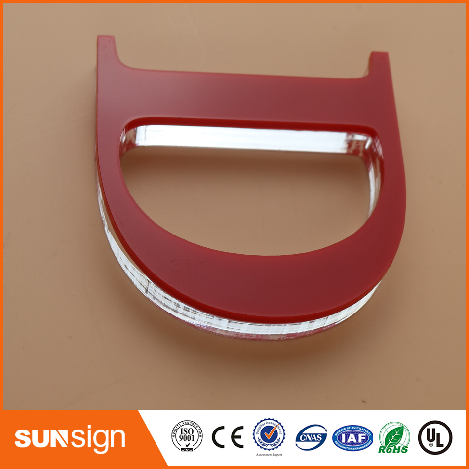 Wholesale Home Decoration Indoor Signage Acrylic Letters Sign