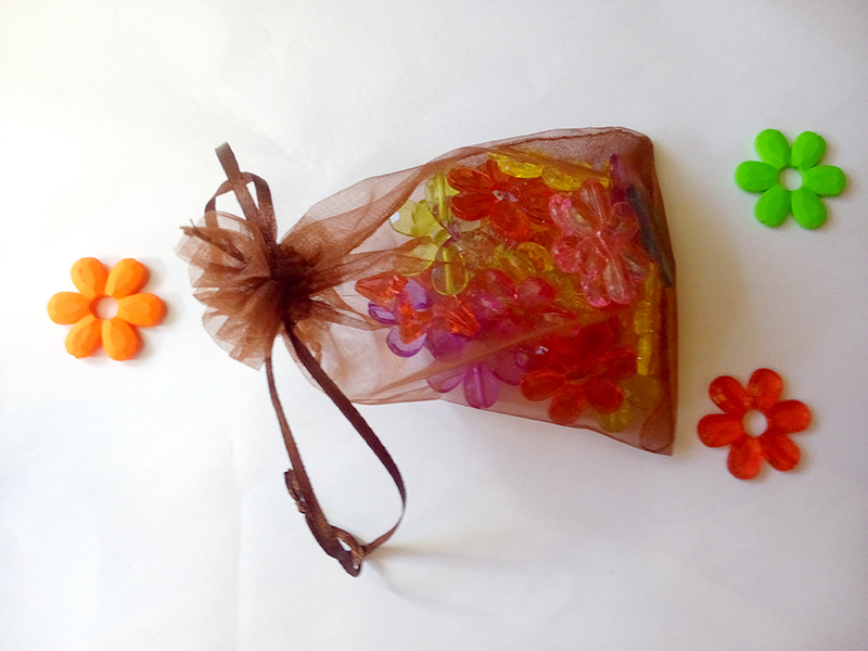 300pcs Organza Bag 20x30cm Drawstring pouch wedding birthday christmas gift bags for jewelry Packaging Display bags