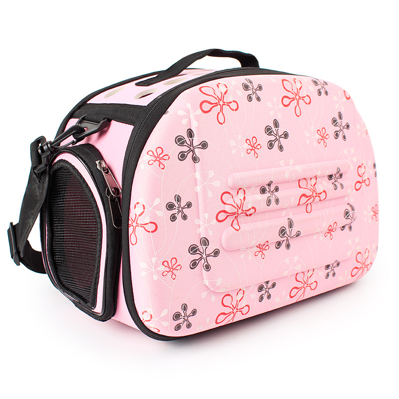 Foldable Pet Dog Carrier Airline Approved Outdoor Travel Puppy Shoulder Bag For Small Dog
