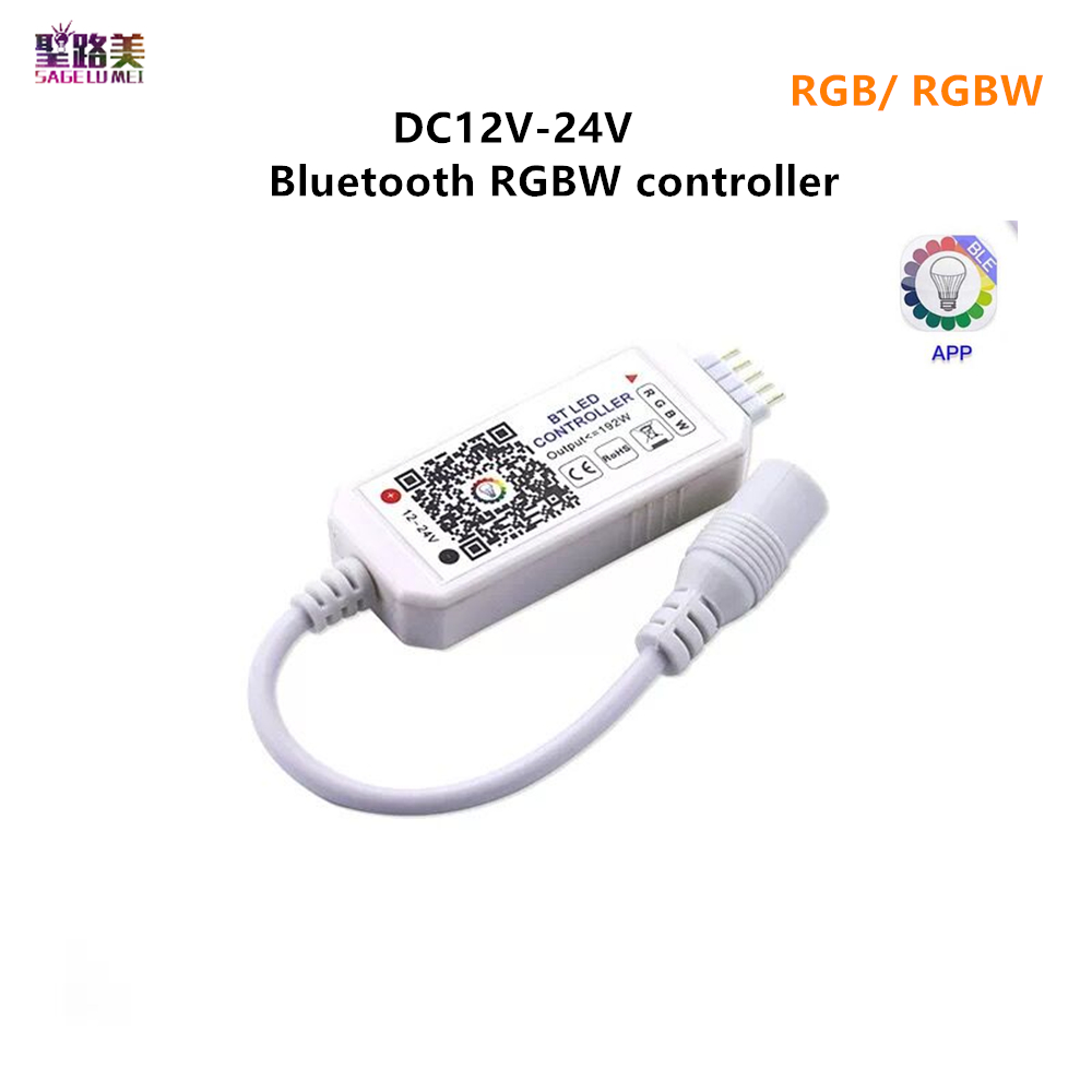 Magic Home DC5V 12V 24V Bluetooth Wireless WiFi Controller,RGB/RGBW IR RF LED Controller for 5050 WS2811 WS2812B Pixel led strip