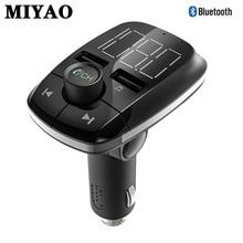 Bluetooth 4.2 Hands Free FM Transmitter Wireless Handsfree Car Kit Car Dual USB Fast Charging MP3 Player Car Charger Modulator недорого