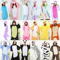 Whole Animal Pajamas Adult Onesies For Adults Costumes Cosplay Cartoon Animal Sleepwear Tiger Bear Panda Star