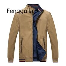 2019 New Brand Slim Mens Coats Casual Windbreak Jackets Men Autumn Clothing Clothes Male Business