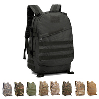 40L Military Backpack Rucksack Tactical Backpack Tactical Bag Army Travel Outdoor Sports Bag Waterproof Hiking Hunting Camping