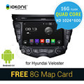 Quad Core 16G HD 1024x600 Android 4.4 Car DVD Player For Hyundai Veloster with GPS,WIFI,SWC,Radio,3G,navigation,Vedio,Bluetooth