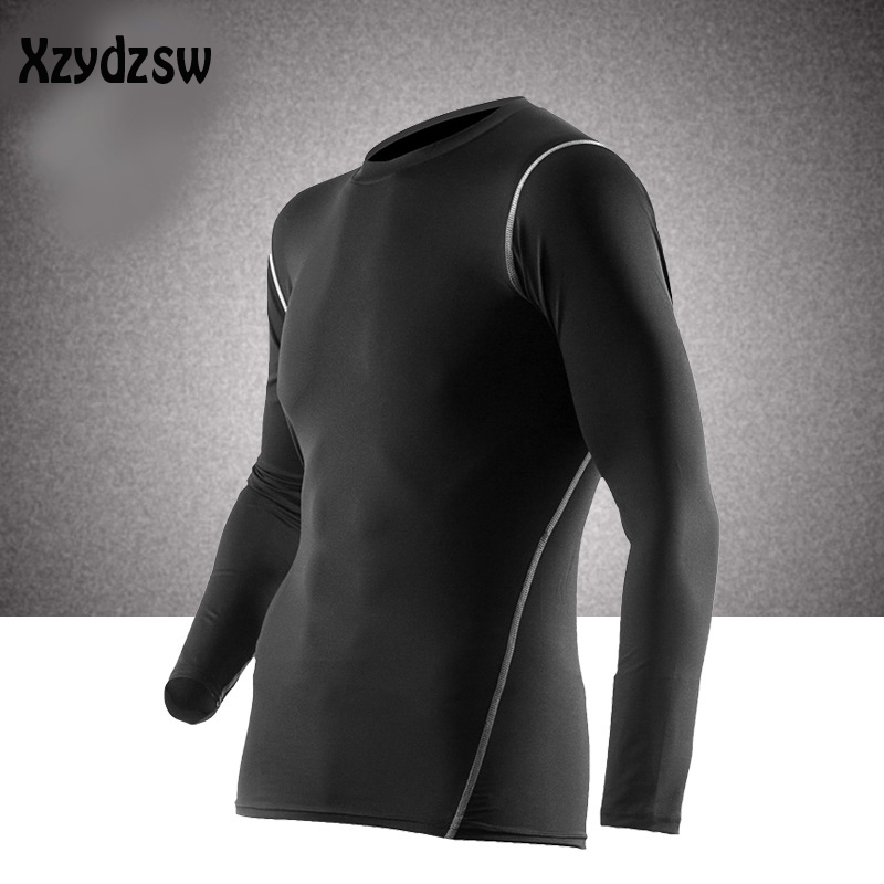 Mens Thermal Underwear 2017 Warm Fast-Dry Technology Surface Elastic Force Long Johns Compression Riding john For Man Women