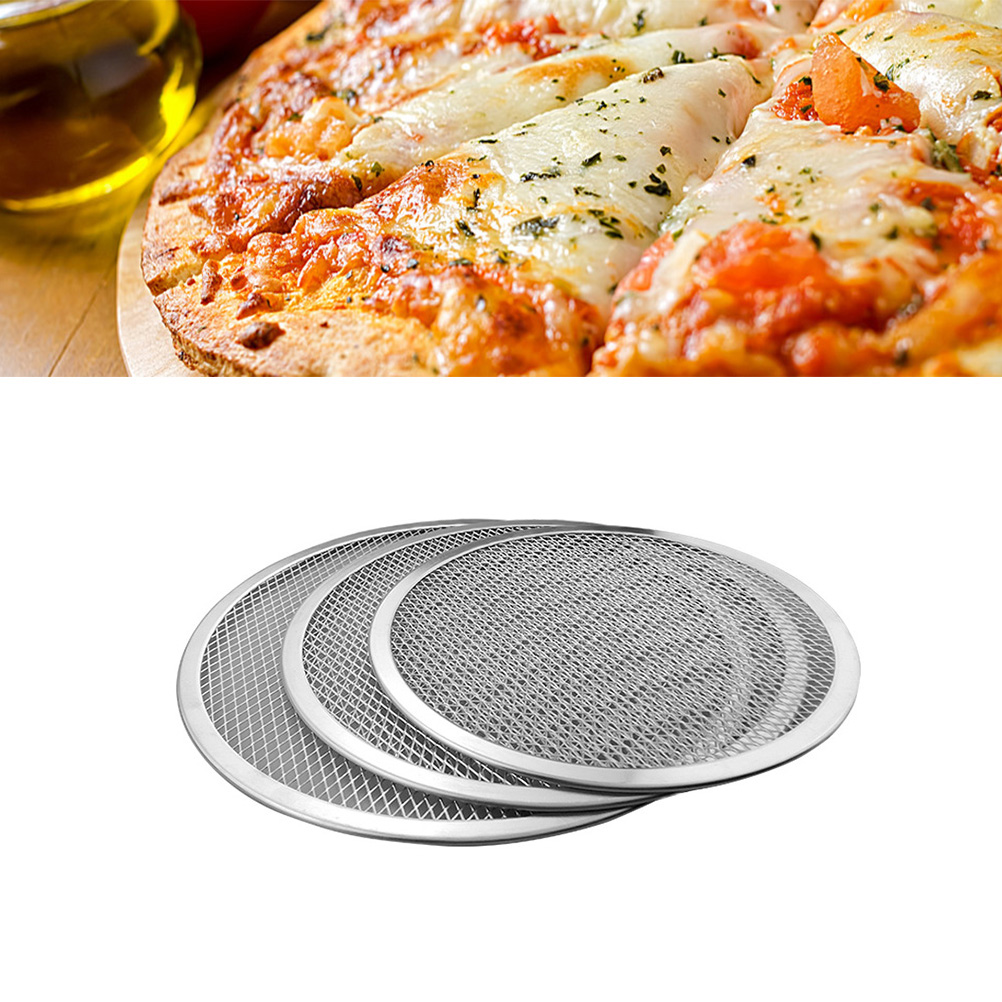 14inch Pizza Baking Pan Thickened Aluminium Pizza Tray Non-stick Scratch Resistant  Pizza Baking Pan