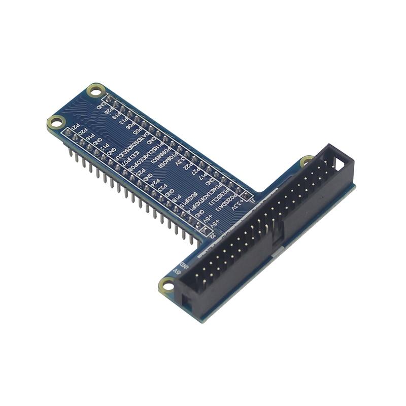 40 Pin GPIO Extension Board GPIO Adapter T Style GPIO Module for Orange Pi Plus Raspberry Pi 3 Model B 40 pin motherboard specified extension terminal for raspberry pi b black 2 pcs