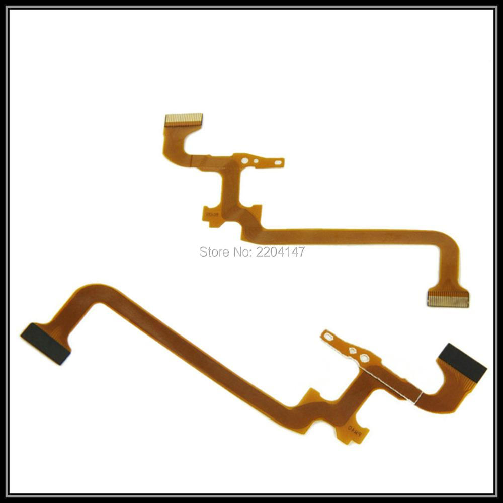 2PCS/ NEW LCD Flex Cable For JVC GZ - MS215 MS230 HM320 HM300 HM330 HM550 HM570 MG750 HD620 HD500 HD520 Video Camera