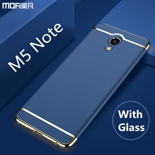 buy online c4dda 4a0f0 Meizu m5 note case cover meizu m5 note cover MOFi original luxury case capa  coque funda carcasa hoesjes m5 note silver blue-in Fitted Cases from ...
