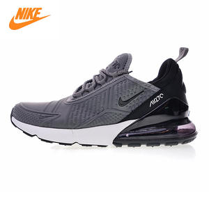 finest selection 5509e ac798 Nike AH8060 Air Max 270 Men s Running Shoes 001 Grey black Non-slip Shock  Absorbing