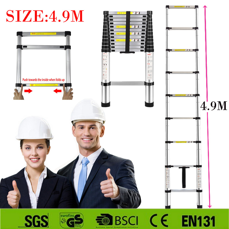 hot-sale-strong-49m-aluminum-telescopic-ladder-with-the-latest-en131-certificated-safe-doorways