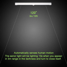 30CM SMD2835 22 LED Under Cabinet Light Wireless Motion Sensor Touch Control USB Rechargeable Closet night Lights for Wardrobe