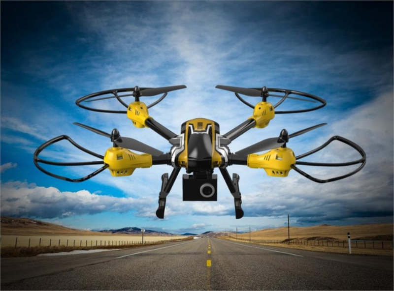 Nouveau K70 télécommande quadrirotor RTF 6 axes 4CH avec caméra HD 5.0MP et lecteur de carte RC hélicoptère Drone RC jouets pour cadeau