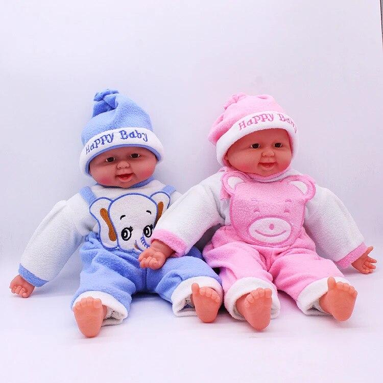 大幼児教育シミュレーション人形赤ちゃん人形 面白い笑い 赤ちゃん幼稚園子供の おもちゃ ギフト Children Dolls Toys Toy Doll Childdoll Baby Aliexpress