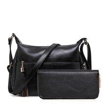 Marke Neue Frauen Handtasche Umhängetasche frauen Umhängetasche Lässig Weiblichen Beutel der Künstliche Leder Crossbody tasche mit Geldbörse N340