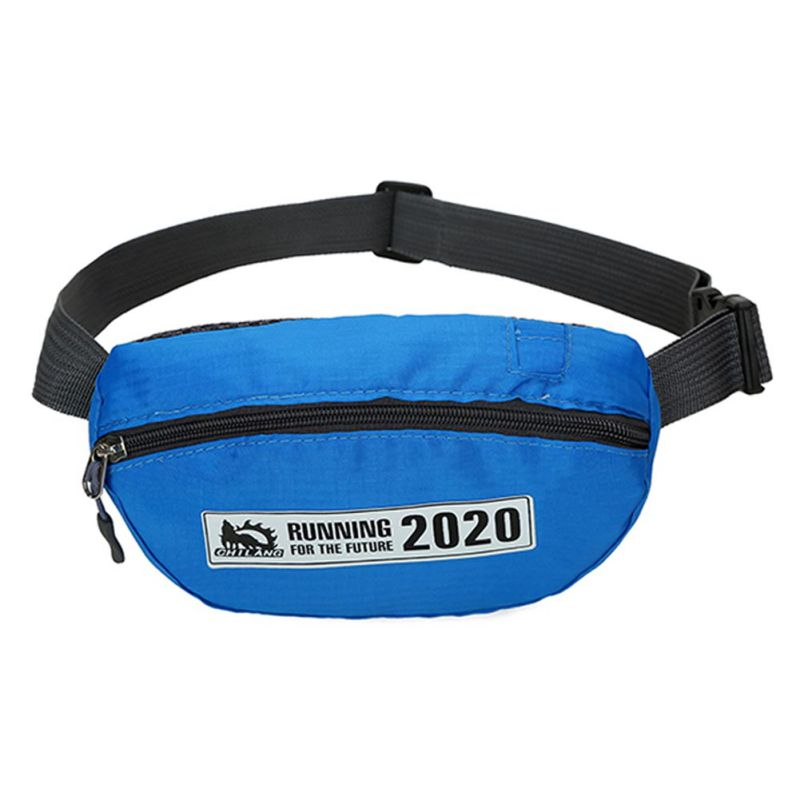 Men Women Sport waist packs travel ruuning waist bag waterproof bags small unisex hip bag 7 colors