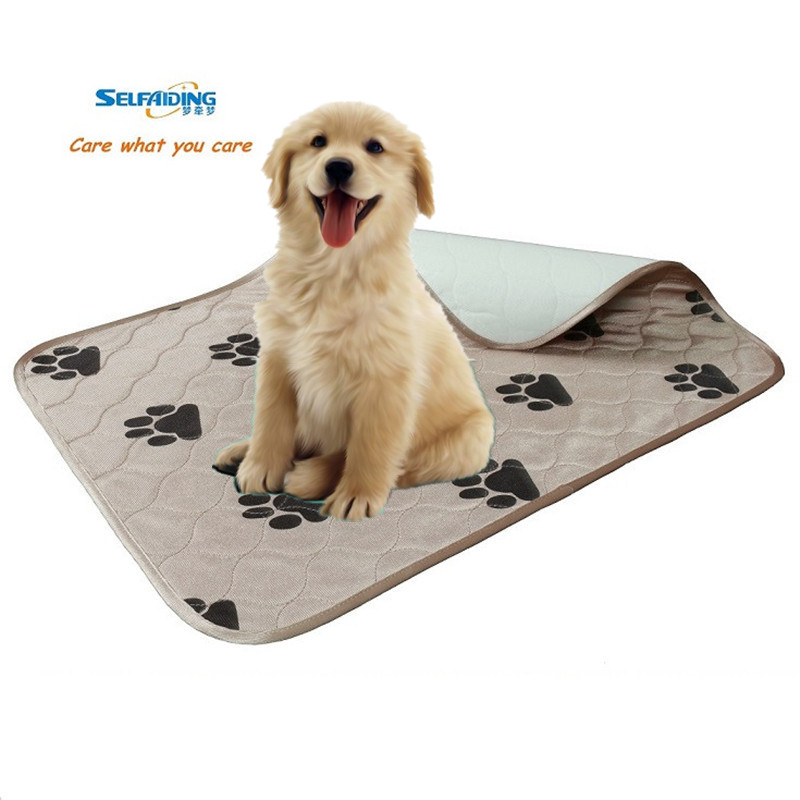 Waterproof reusable dog pee pad, dog pad, dog underpad Собака