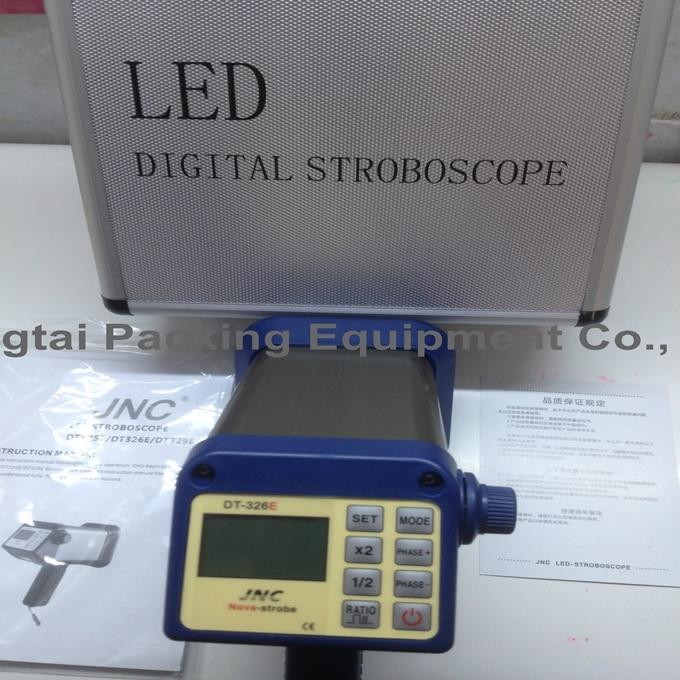 Nova Strobe DT-326E Portable Rechargeable LED Stroboscope UV Digital Stroboscope 50~20000 times/minute 1000mm pt l02b 1000 led fixed stroboscope light portable stroboscope lamp for printing