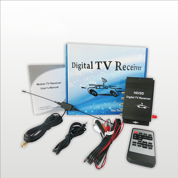 USA Car Digital TV Receiver Tuner Car ATSC Set Top Box for Car dvd  player or LCD monitor 9 inch car headrest dvd player pillow universal digital screen zipper car monitor usb fm tv game ir remote free two headphones