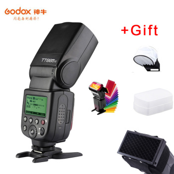 Godox TT685O 2.4G HSS 1/8000s TTL II GN60 Camera Flash Speedlite + X1T-O Transmitter Trigger + Softbox for Panasonic Olympus