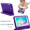 Eagwell Kids Children Safe Rugged Proof Foam Case Handle Stand For Samsung GALAXY Tab 4 7