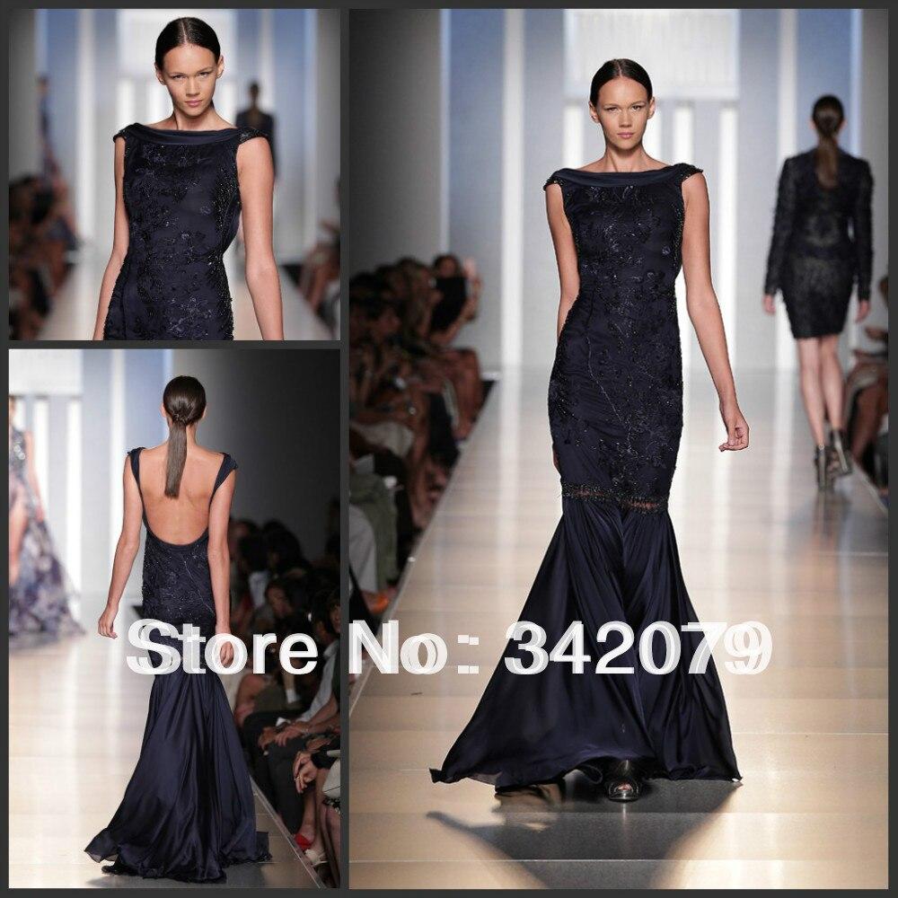 Popular Midnight Blue Evening Dress-Buy Cheap Midnight Blue ...