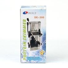 Protein Skimmer Marine Aquarium Fish Tank Filter System Accessories RESUN SK-300 3.5W 300 L / H Free Shipping