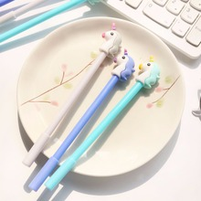 3 pcs / Set gel pen unicorn kalem Kawai boligrafo caneta lapices canetas papelaria cute stationery material escolar pens 12 pcs set gel pen white boligrafo set color papelaria kawaii caneta cute stationery pens for school kalem