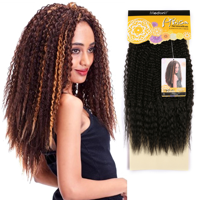 New Bohemian Long Curly Hair Extension Synthetic Natural Sexy Heat