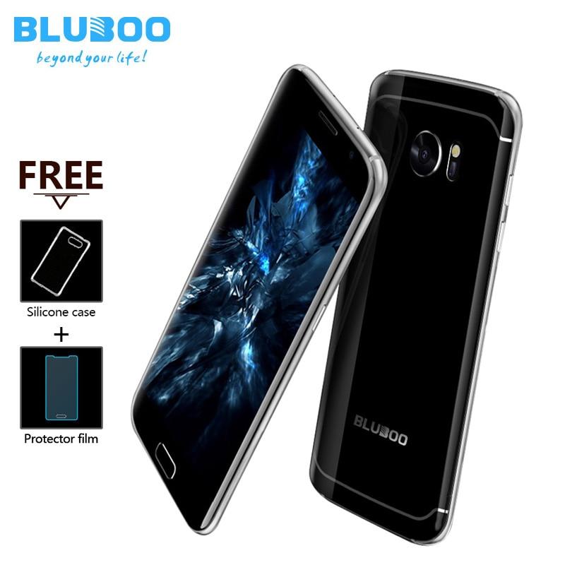 BLUBOO Edge 4G LTE Smartphone 5.5″ HD Fingerprint Android 6.0 MTK6737 Quad Core 2GB RAM 16GB ROM 13MP+8MP OTG Mobile Phone