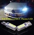 2 шт. Canbus T10 W5W Плазменных LED Просвет Лампы Сторона Парковка свет Для Mercedes Benz E350 E550 C250 C300 ML550 R320 R350