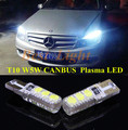 2 pcs Canbus T10 W5W Plasma LED Clearance Lamp Bulb Side Estacionamento luz Para Mercedes Benz E350 E550 C250 C300 ML550 R320 R350