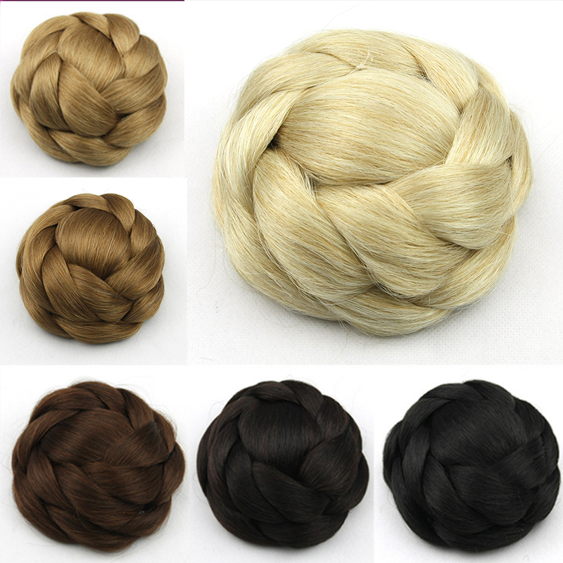 New font b Synthetic b font Hairpieces Clip In Bun font b Hair b font Chignon