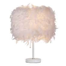 Nordic LED Standing Lights colored feather floor lamp bedroom living room lights bedside lighting deco Lamp