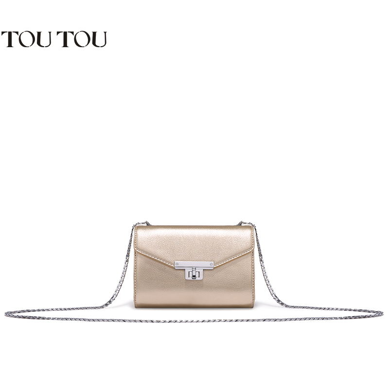 TOUTOU Women bags Brand high quality chain bag mini inclined One shoulder and inclined shoulder bag joker bag free shipping free shipping 2014 boom bag leisure contracted one shoulder bag chain canvas bag page 2