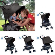 f57f421a0 UV Ray parasol toldo mosquitera para bebé Buggy silla de paseo asiento  parasol coche cubierta sol hood