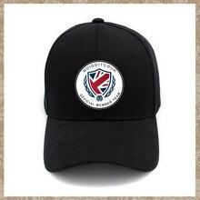 a110257c10048 Divertido Quidditch equipo del Reino Unido Impresión de logotipo gorras de  béisbol ajustable de algodón sombreros del Snapback s.