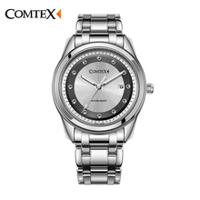 НОВЫЕ 2016 мужские часы Лучший Бренд моды часы кварцевые часы мужчины relogio masculino мужчины бизнес случайный Водонепроницаемые часы S6506G