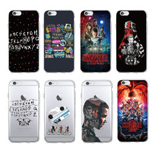 coque iphone 8 stranger things silicone