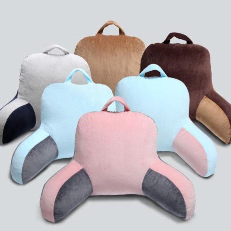 Lumbar pillow office seat cushion bed pregnant women pillow waist pad back sofa back cushion