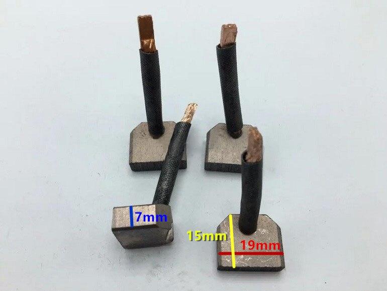 Escova de carbono do motor de arranque Para A Isuzu (Tamanho: 7*19*15mm)