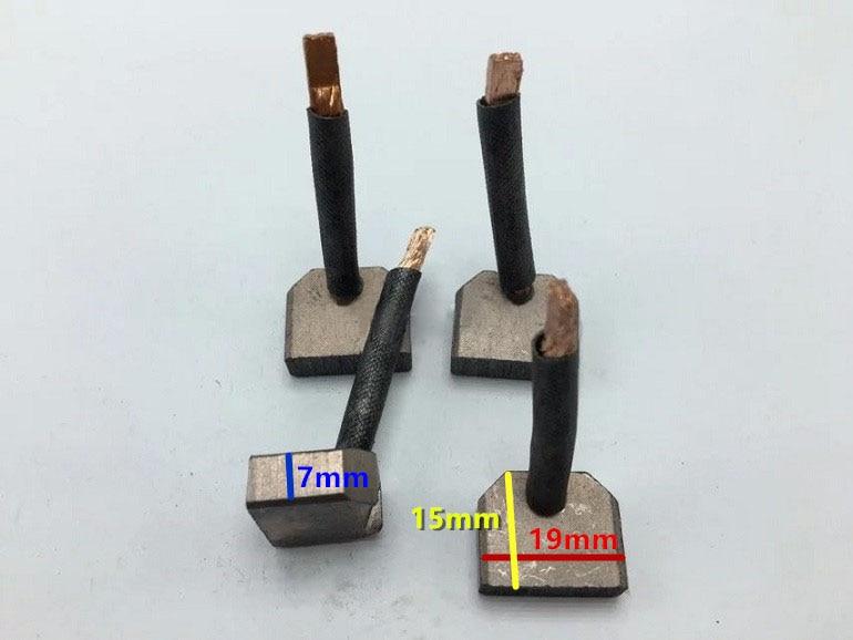Starter motor carbon brush For Isuzu (Size:7*19*15mm)