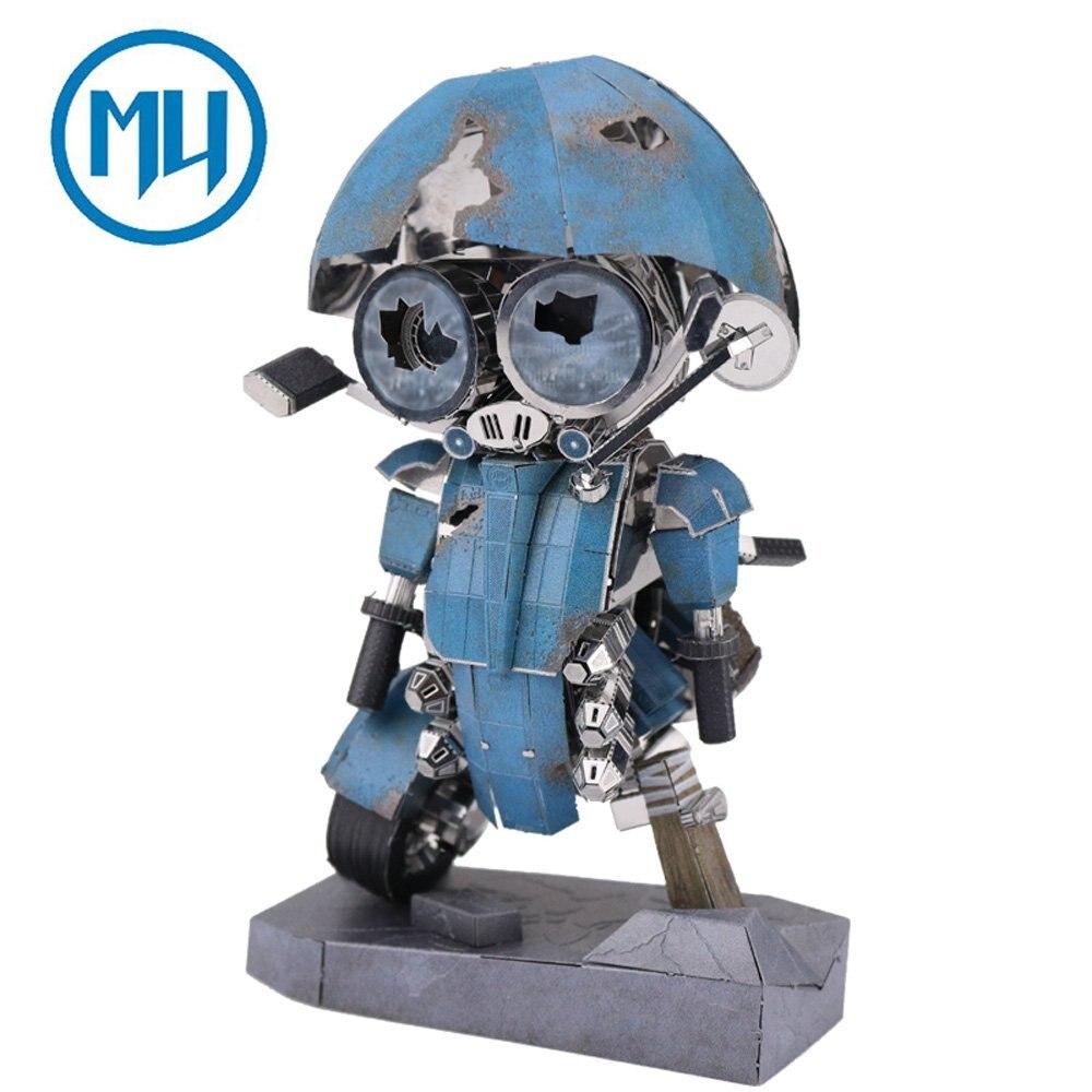 2017 MU 3D Metal Puzzle Sqweeks The Last Knight Model Kits YM-N054 DIY 3D Laser Cut Assemble Jigsaw Toy Autobots